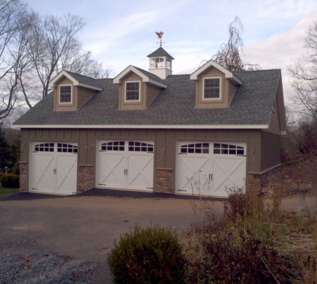 Shenandoah Series Garages