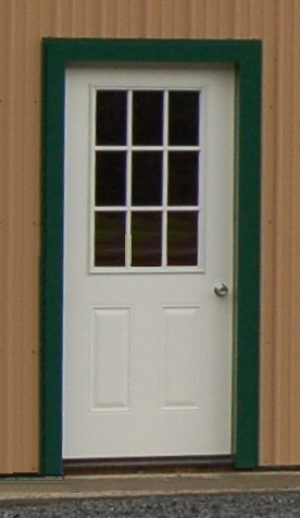 9 Lite Entry Door