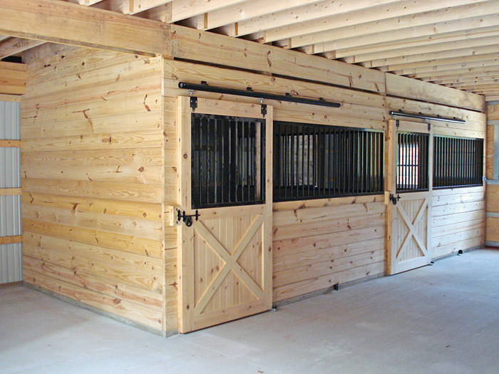 Horse Barns Pennsylvania Pine Creek Construction Llc